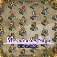 Portada oficial de Mercenaries Saga Chronicles para Switch