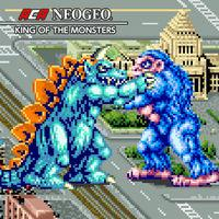 Portada oficial de NEOGEO King of the Monsters para Switch