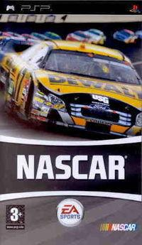Portada oficial de NASCAR 2007 para PSP