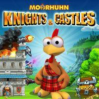 Portada oficial de Moorhuhn Knights & Castles para Switch