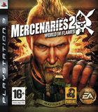 Portada oficial de de Mercenarios 2 para PS3