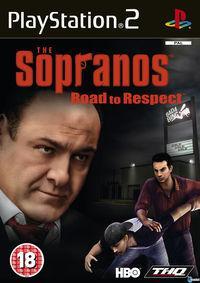 Portada oficial de Los Sopranos para PS2