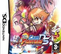 Portada oficial de SNK VS Capcom Card Fighters DS para NDS