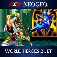Portada oficial de NeoGeo World Heroes 2 Jet para PS4
