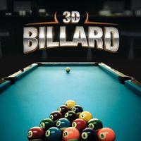 Portada oficial de 3D Billiard para PS4