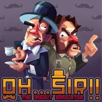 Portada oficial de Oh...Sir! The Insult Simulator para Switch