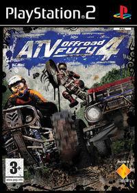 Portada oficial de ATV Offroad Fury 4 para PS2