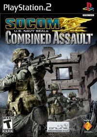 Portada oficial de Socom : U.S. Navy Seals Combined Assault  para PS2