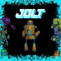 Portada oficial de Jolt Family Robot Racer eShop para Wii U
