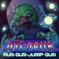 Portada oficial de ATOMIK: RunGunJumpGun para Switch