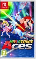 Portada oficial de de Mario Tennis Aces para Switch