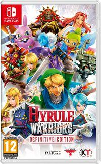 Portada oficial de Hyrule Warriors: Definitive Edition para Switch