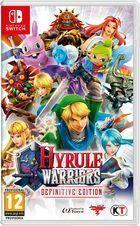 Portada oficial de de Hyrule Warriors: Definitive Edition para Switch
