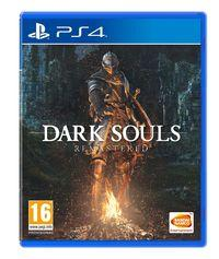 Portada oficial de Dark Souls: Remastered para PS4