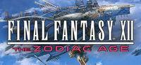 Portada oficial de Final Fantasy XII The Zodiac Age para PC