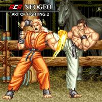 Portada oficial de NeoGeo Art of Fighting 2 para Switch