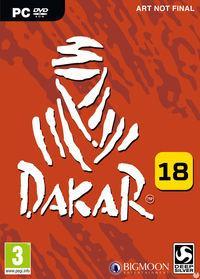 Portada oficial de Dakar 18 para PC