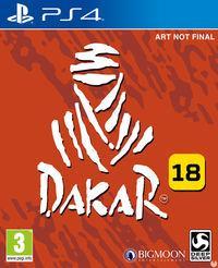Portada oficial de Dakar 18 para PS4