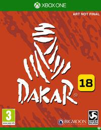 Portada oficial de Dakar 18 para Xbox One