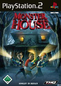 Portada oficial de Monster House para PS2