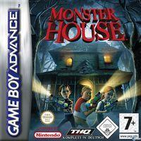 Portada oficial de Monster House para Game Boy Advance