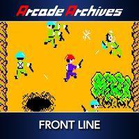 Portada oficial de Arcade Archives FRONT LINE para PS4