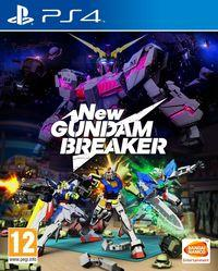 Portada oficial de New Gundam Breaker para PS4