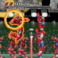 Portada oficial de NeoGeo Power Spikes II para Switch