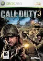 Portada oficial de de Call of Duty 3 para Xbox 360