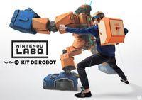 Portada oficial de Nintendo Labo Toy-Con 02 - Kit Robot para Switch