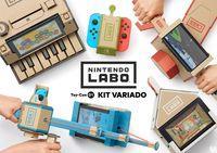 Portada oficial de Nintendo Labo Toy-Con 01 - Kit Variado para Switch