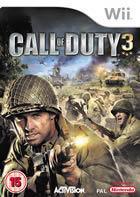 Portada oficial de de Call of Duty 3 para Wii