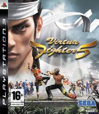 Portada oficial de Virtua Fighter 5 para PS3