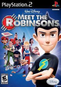 Portada oficial de Disney's Meet The Robinsons para PS2
