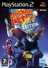 Portada oficial de Disney's Chicken Little: Ace in Action para PS2