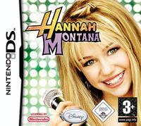 Portada oficial de Hannah Montana para NDS
