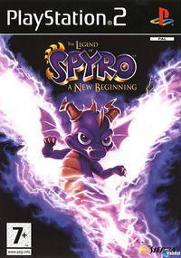 Portada oficial de The Legend of Spyro para PS2