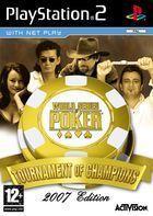 Portada oficial de de World Series of Poker: Tournament of Champions para PS2