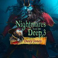 Portada oficial de Nightmares from the Deep 3: Davy Jones para PS4