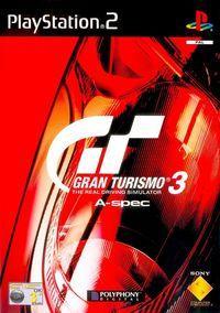 Portada oficial de Gran Turismo 3 A-Spec para PS2