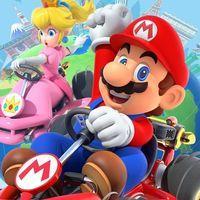Portada oficial de Mario Kart Tour para Android