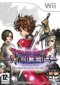 Portada oficial de Dragon Quest Swords: La Reina enmascarada y la Torre de los Espejos para Wii