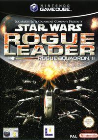 Portada oficial de Star Wars: Rogue Leader para GameCube