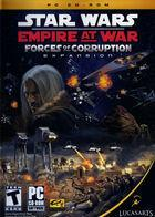 Portada oficial de de Star Wars Empire at War: Forces of Corruption para PC