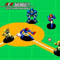 Portada oficial de Neo Geo Super Baseball 2020 para Switch