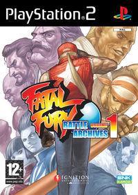 Portada oficial de Fatal Fury Battle Archives Vol.1 para PS2