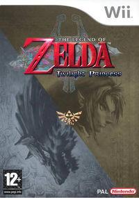 Portada oficial de The Legend of Zelda: Twilight Princess para Wii