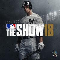 Portada oficial de MLB The Show 18 para PS4