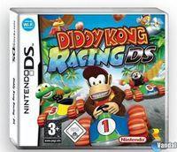 Portada oficial de Diddy Kong Racing DS para NDS
