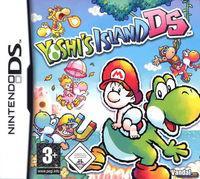 Portada oficial de Yoshi's Island DS para NDS